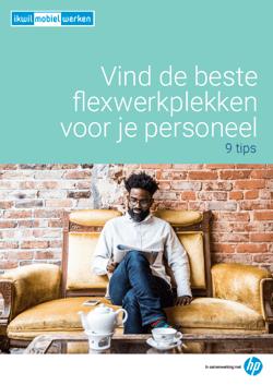 Vind de beste flexwerkplekken voor je personeel, gratis whitepaper