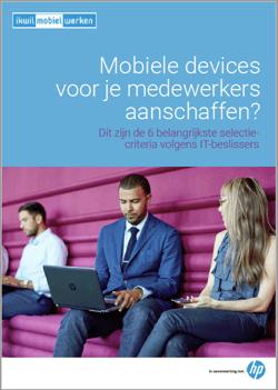 WP Mobiele devices aanschaffen HP Frontpage